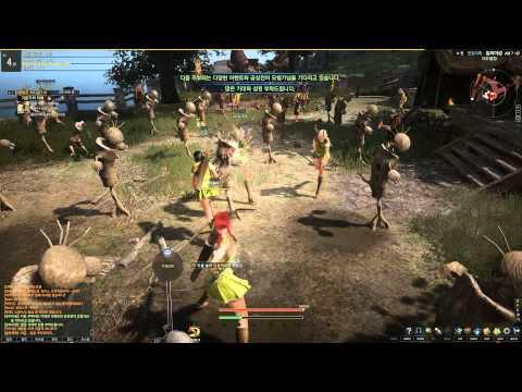Black Desert Online 2nd Beta Archer Starting Area Part 1