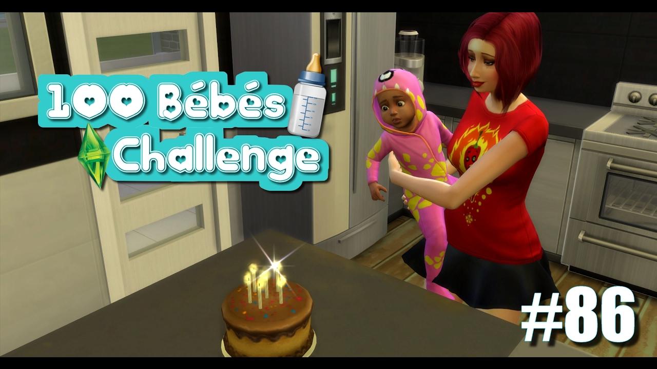 anniversaire bébé sims 4