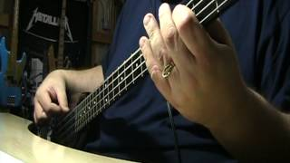 Van Halen And The Cradle Will Rock Bass Cover