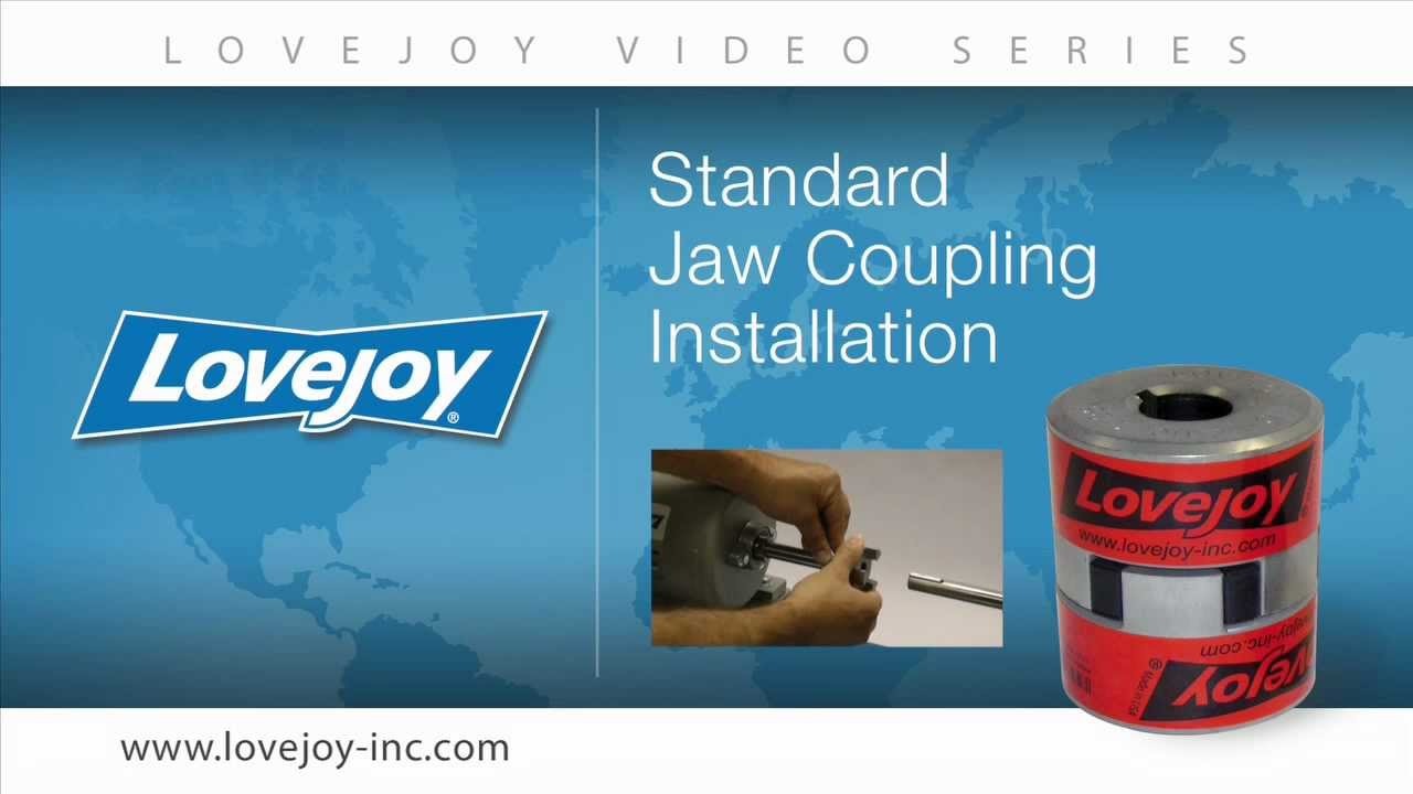 Lovejoy Standard Jaw Coupling Installation Video