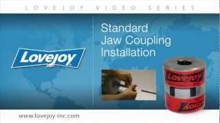 Lovejoy Standard Jaw Coupling Installation Video