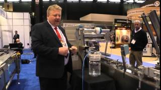 Cavanna describes new zero 4 wash down horizontal flow wrappers and pullnose @ PackExpo Chicago 2014