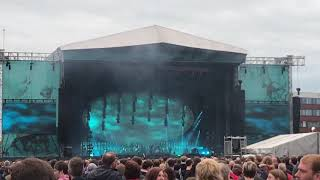 Radiohead ♪Weird Fishes/Arpeggi(1/4) @Emirates Old Trafford Manchester 4 July 2017