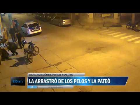ElDía tuvo acceso a las imágenes de una cámara de seguridad en Andrade y Caseros