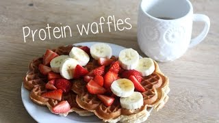 How To Make Onewhey Protein Waffles!