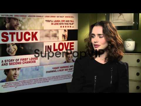 INTERVIEW - Lily Collins on re-reading her old teenage di...