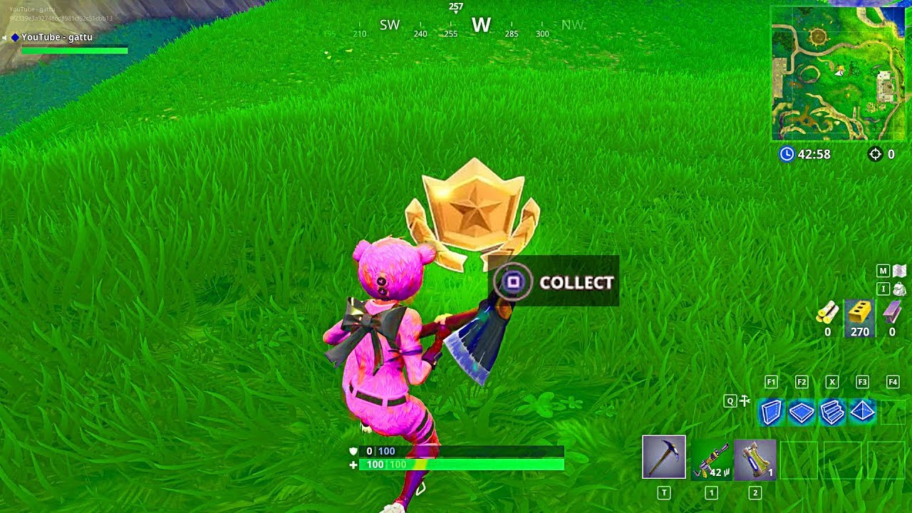 Why No Week 10 Secret Battle Star Locations Collect Other 7 Bonus