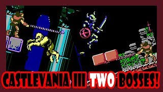 I took out 2 bosses in Castlevania III in under 9 minutes