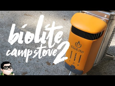 BioLite Camp Stove 2 Charging with Fire!!