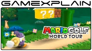 Mario Golf DLC Gameplay (Nabbit, Rosalina, Toadette, Gold Mario & Mario Golf 64 Courses!)