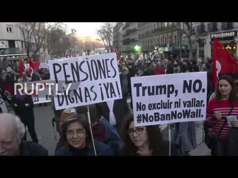 Spain: 'March for Dignity' anti-austerity demo draws thousands in Madrid