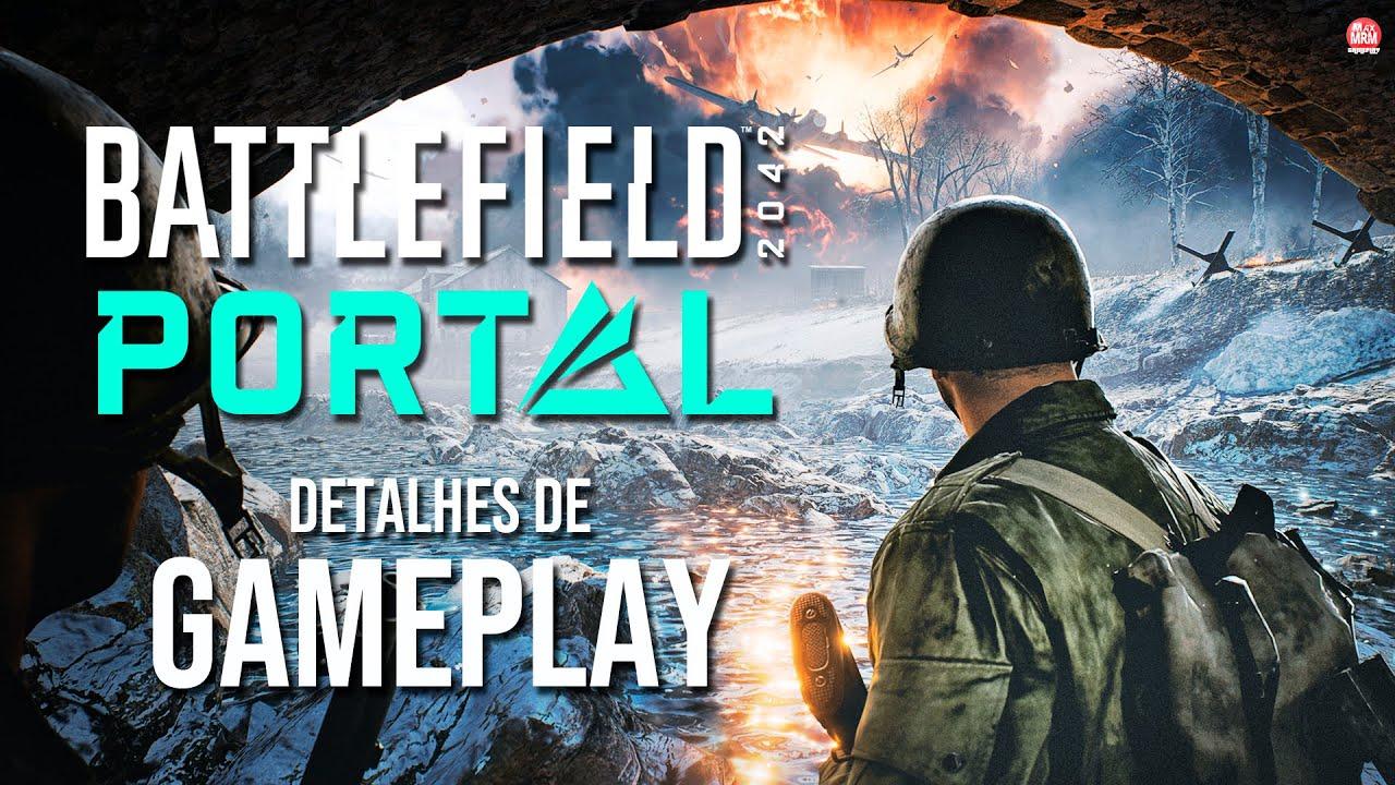 Battlefield 2042 PORTAL - GAMEPLAY e DETALHES do MELHOR MODO de TODOS OS TEMPOS!?