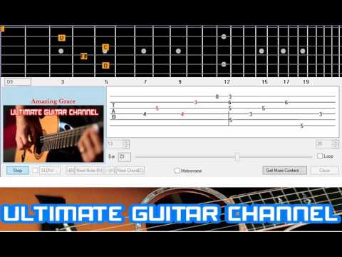 Guitar guitar tabs amazing grace : Guitar Solo Tab] Amazing Grace - YouTube