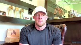 JJ Watt says video of officer kneeling on neck of George Floyd is disgusting