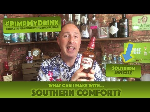 What Cocktail Can I Make With Southern Comfort? How To Make A Southern Swizzle