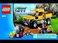 LEGO City 4200 Mining 4x4 Instructions Book DIY