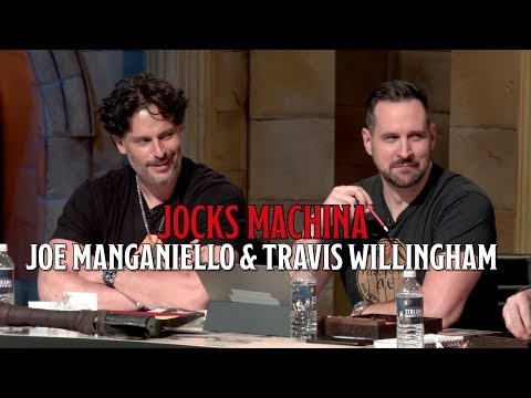 Joe Manganiello and Travis Willingham on Jocks Machina and D&D