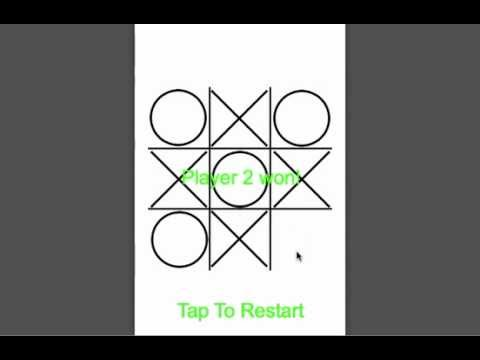 Player Tic Tac Toe Template  Youtube