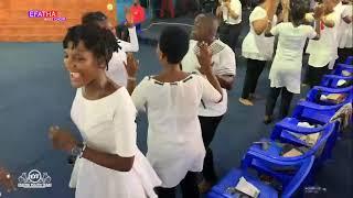 Efatha Youth Team & Mass Choir | Ministering at Efatha Church, Tanzania: 21.02.202 - Song: NIMEMUONA