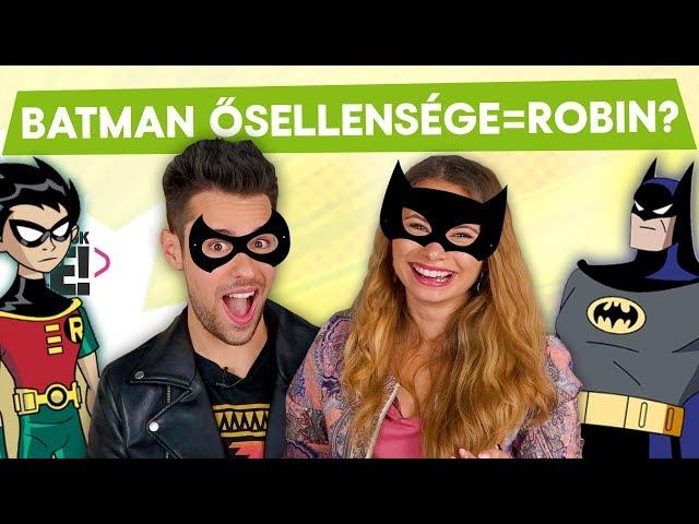 Batman ősellensége=ROBIN??? 😅 Viszkok Fruzsi és Csecse Attila a Csúcsjátszmában   Játsszuk le!