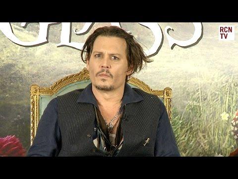 Johnny Depp Interview Mad Hatter Origins Explained