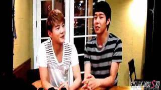 [Fancam] 111210  Yoosu message to Jaejoong at Shanghai Fanmeeting