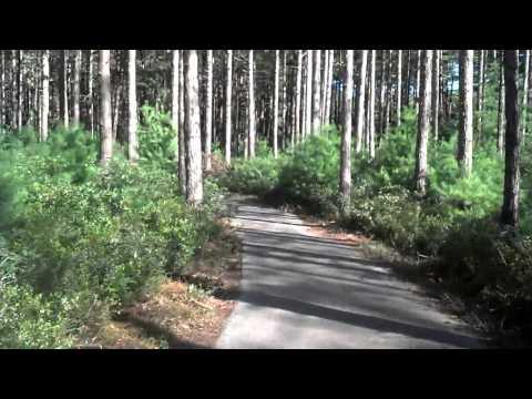 Biking Myles Standish State Forest