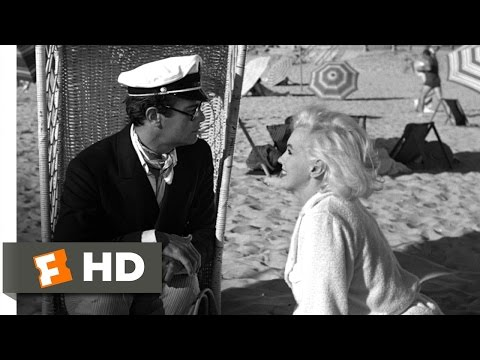 Some Like It Hot (7/11) Movie CLIP - Sugar Meets The Millionaire (1959) HD