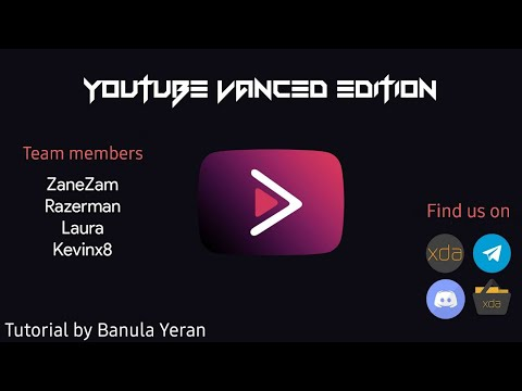 How to install Youtube Vanced Edition