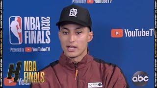 Kyle Kuzma Postgame Interview - Game 3 | Lakers vs Heat | October 4, 2020 NBA Finals