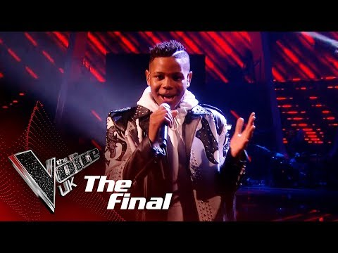 Donel Mangena Performs 'Let Me Love You': The Final | The Voice UK 2018