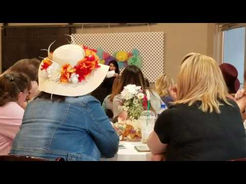 I was a guest speaker at Bakersfield's Lularoe Supper.
