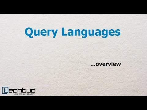 Overview of Query Languages | Database Management System