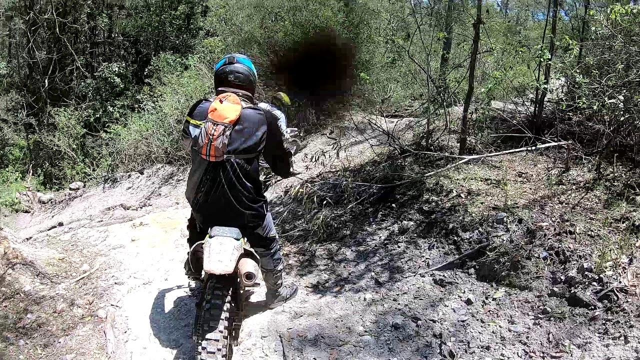 Motocross Mountain Camping Trip - YouTube