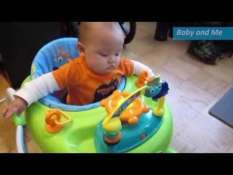 First Time In His Baby Einstein Walker