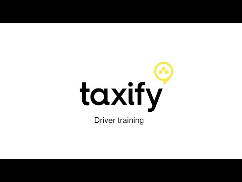 Taxify Driver Training Video