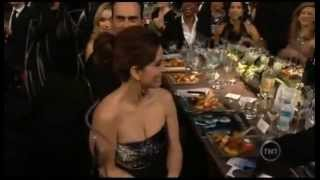 Tina Fey got video-bombed by Scott Adsit
