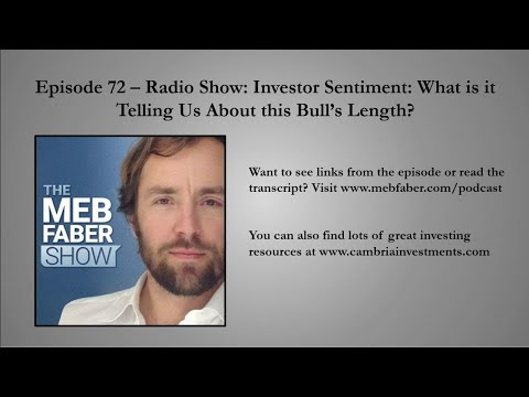 #72 - Radio Show: Investor Sentiment - What is it Telling Us About this Bull's Length?