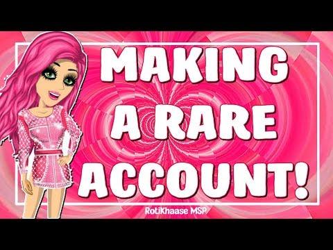 I Made A Rare Account On MSP!