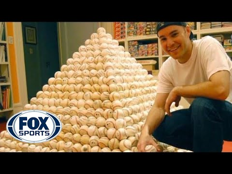Foul Balls, Home Run Balls...this MLB fan has more than 6,000!  See how he gets them.