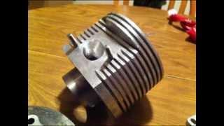 Making a Lambretta Cento (two stroke) Barrel