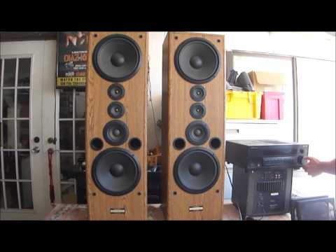 vintage 4 way pioneer speakers cs g911 great sound youtube. Black Bedroom Furniture Sets. Home Design Ideas
