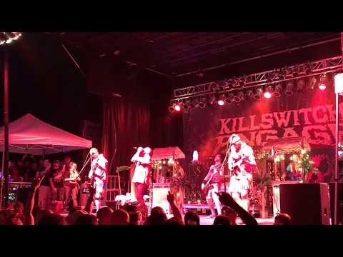 Killswitch Engage- this fire in Holyoke, Mass. 6/24/17
