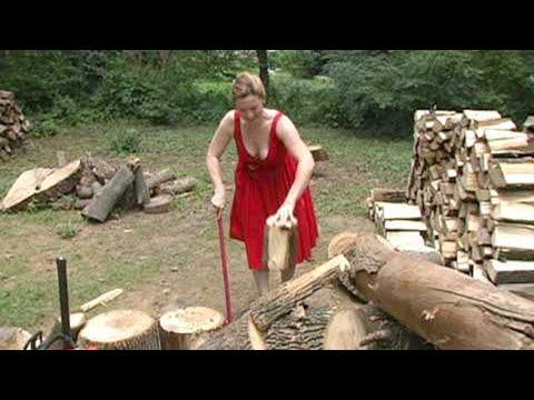 10 Extreme Effective Automatic Firewood Processing Machine, Homemade Wood Splitting Machine