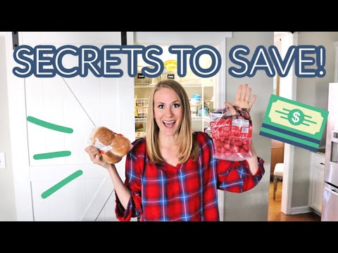 My 12 *SECRETS* to budget + save thousands (no coupons, no gimmicks!)