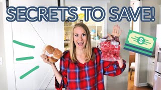 My 12 *SECRETS* to budget + save thousands (no coupons, no gimmicks!)