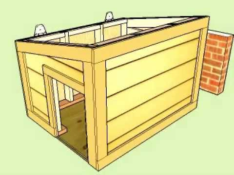 Doghouse With Hinged Roof Youtube
