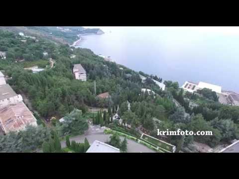 Партенит ЮБК Крым с высоты птичьего полета