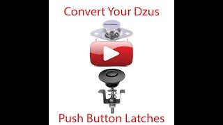 New Install Dzus Retro Kit Push Button Latch
