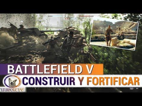 BATTLEFIELD V LAS FORTIFICACIONES O CONSTRUCCIONES + JUEGO TACTICO